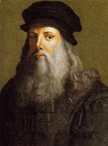 Leonardo la sua passione era la cucina