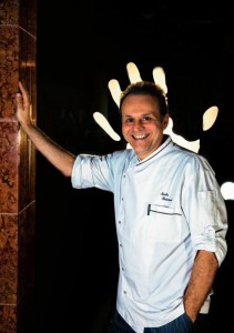 lo chef due stelle Michelin  Nicola Portinari