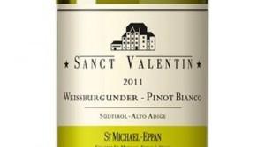 Pinot Bianco della linea Sanct Valentin