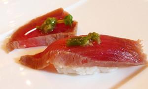 Zuke maguro  (filetto di tonno marinato)