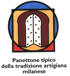 il logo che certifica il panettone tipico