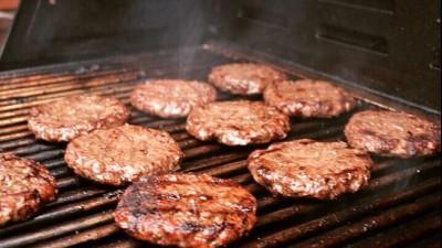 il piacere di un hamburger d'artista