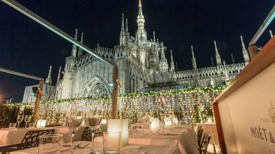Il Duomo sullo sfondo per una serata particolare